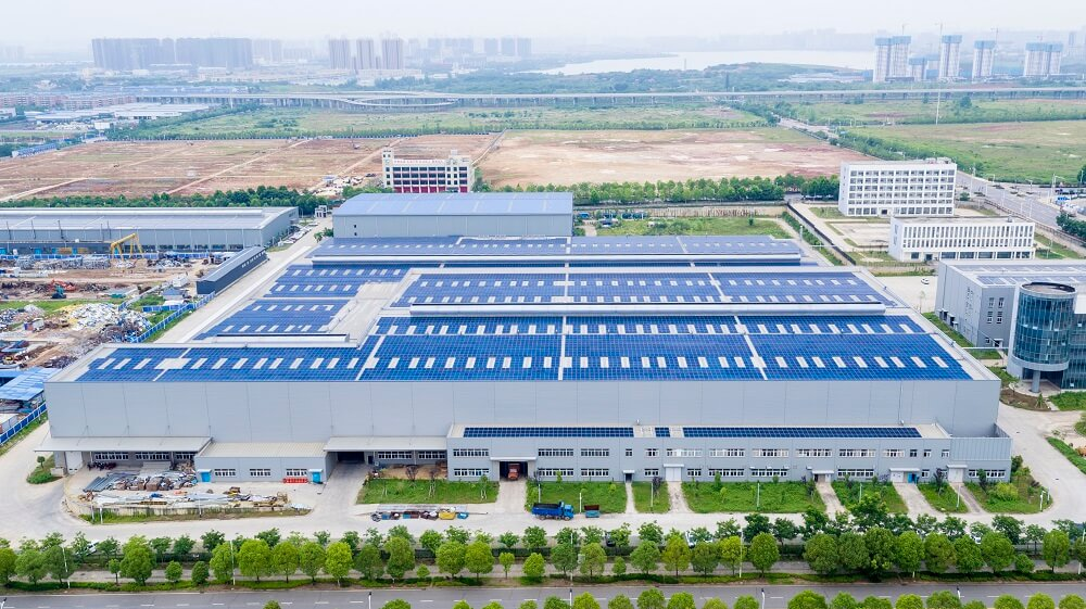 Photovoltaic Power Plant in Wuhuan,Hubei (7)
